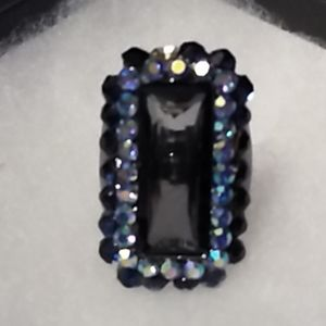 Large ring with beautiful stones one is